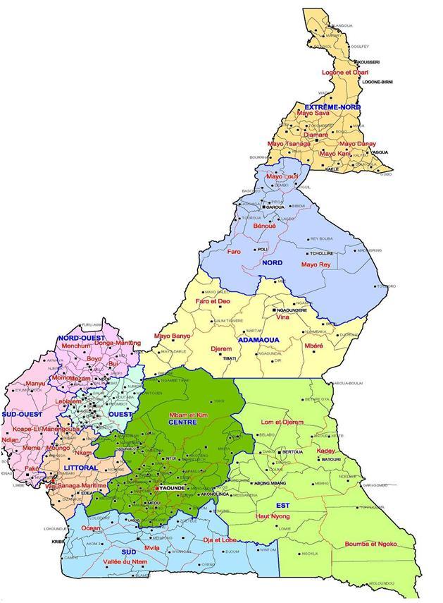 nouveaux gouverneurs cameroun